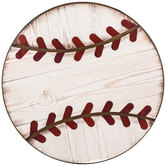 Baseball Wood Wall Decor
